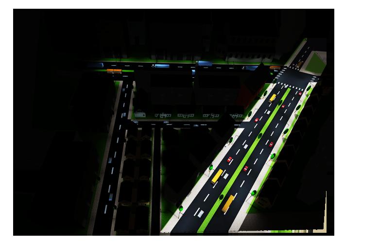 Chiếu sáng đường cao tốc