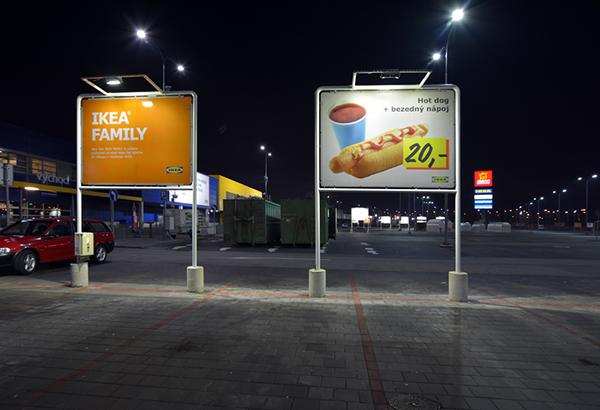 Chiếu sáng biển quảng cáo