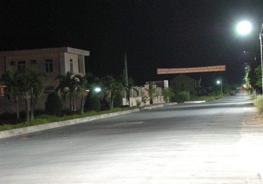 Chiếu sáng đường liên thôn