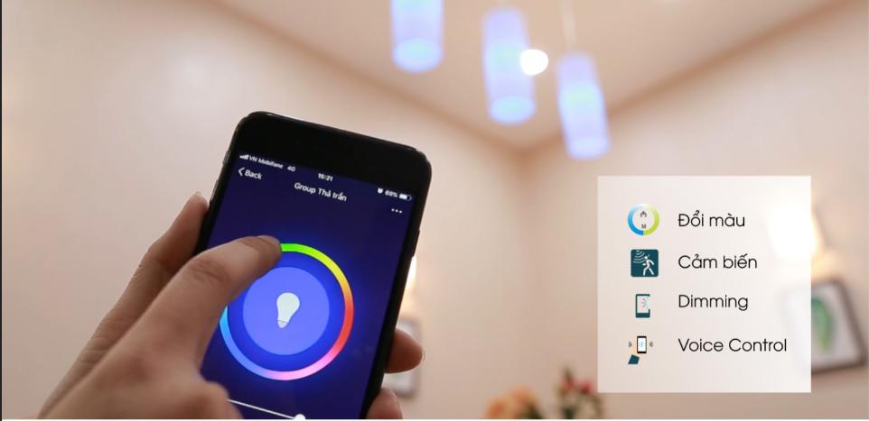 Điều khiển từ xa bằng Smartphone thông qua wifi
