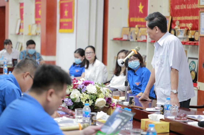 Đoàn Đại biểu bí thư các tỉnh đoàn tới thăm và làm việc tại Rạng Đông