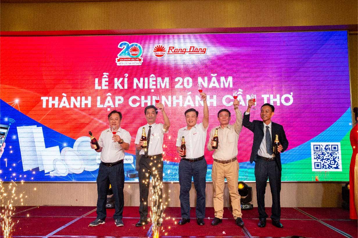 Chi nhánh cần thơ kỷ niệm 20 năm thành lập