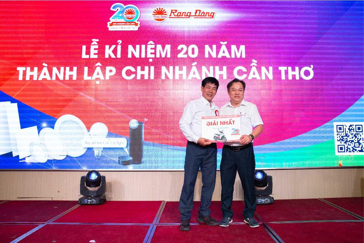 kỷ niệm 20 năm thành lập chi nhánh