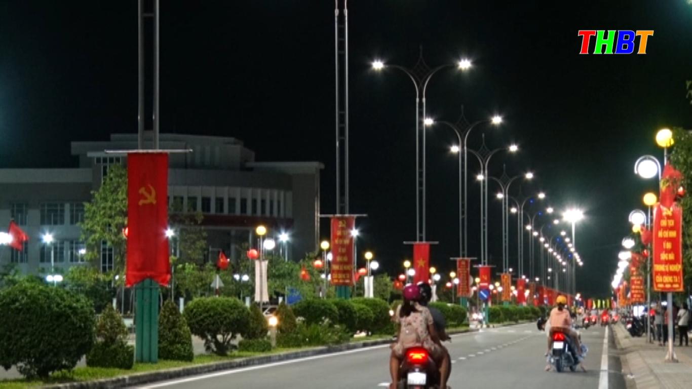 chiếu sáng thông minh thành phố bến tre