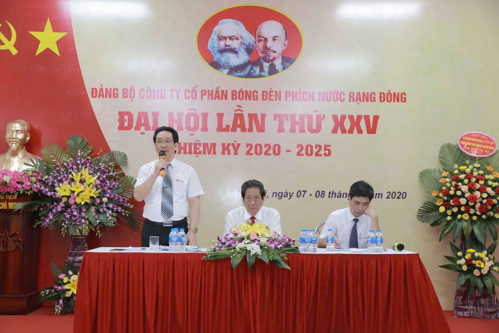 Đại hội Đảng bộ Công ty Rạng Đông lần thứ XXV, nhiệm kỳ 2020 – 2025