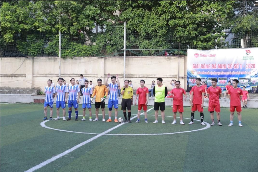 giải bóng đá mini cơ sở 1