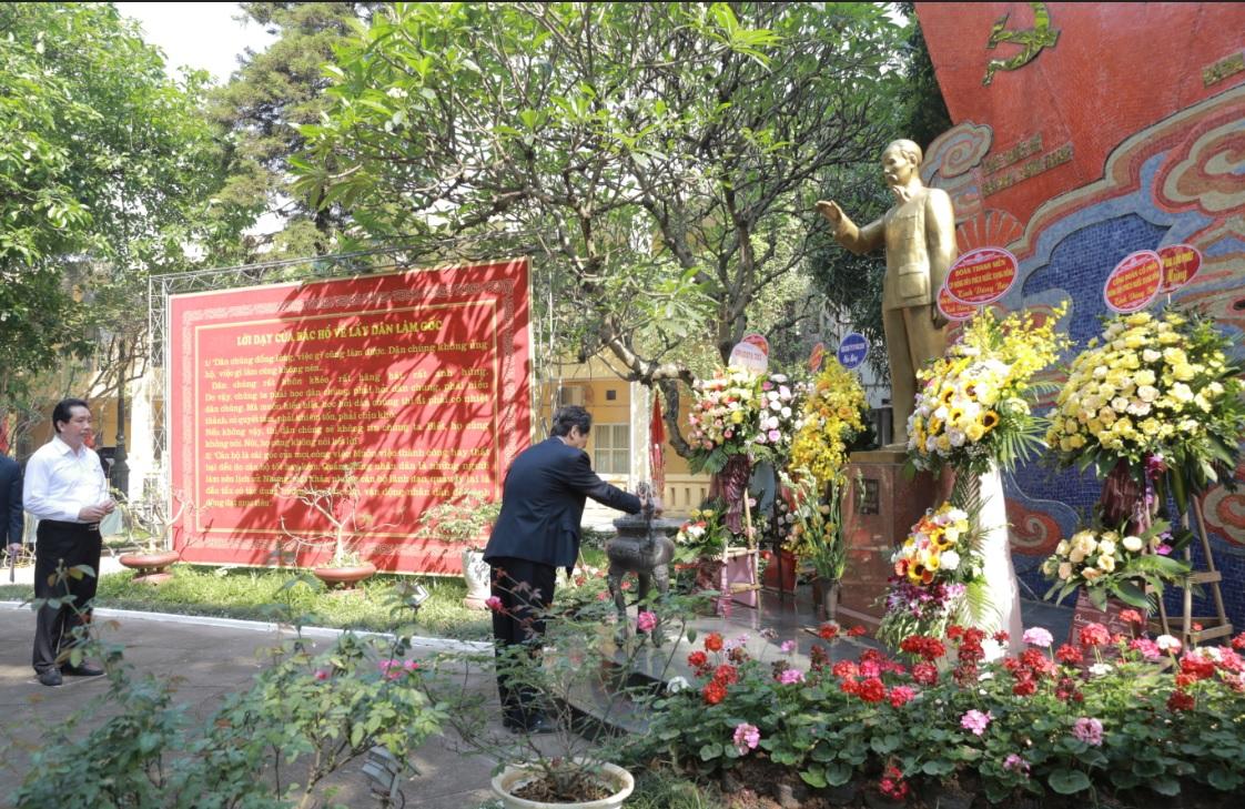 kỷ niệm 56 năm ngày Bác Hồ về thăm công ty