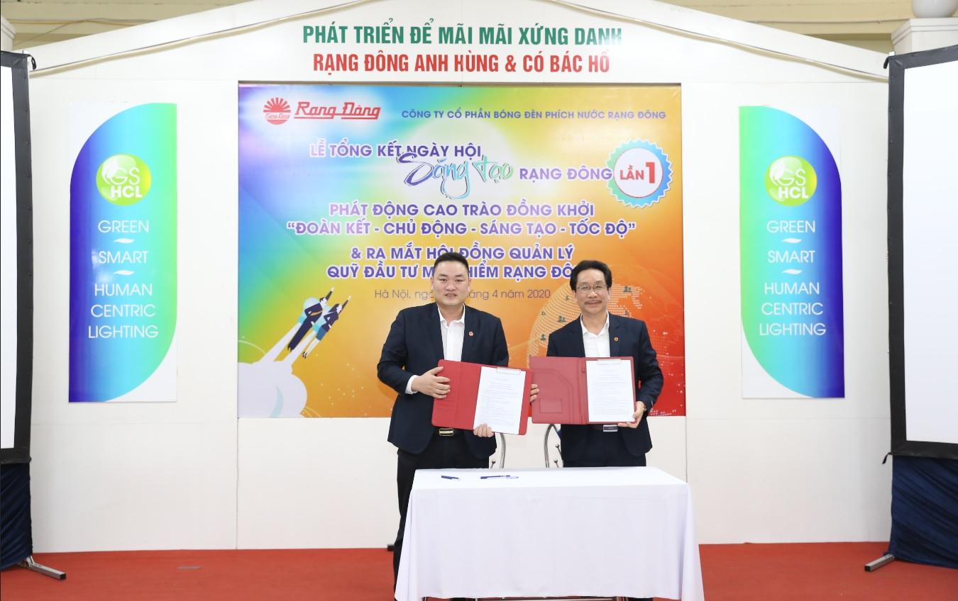 Ra mắt Quĩ đầu tư mạo hiểm Rạng Đông – Rang Dong venture fund