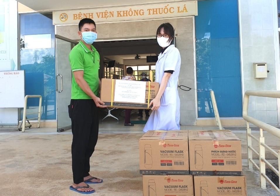 Rạng Đông chung tay tiếp sức cùng Đà Nẵng đẩy lùi dịch bệnh Covid-19