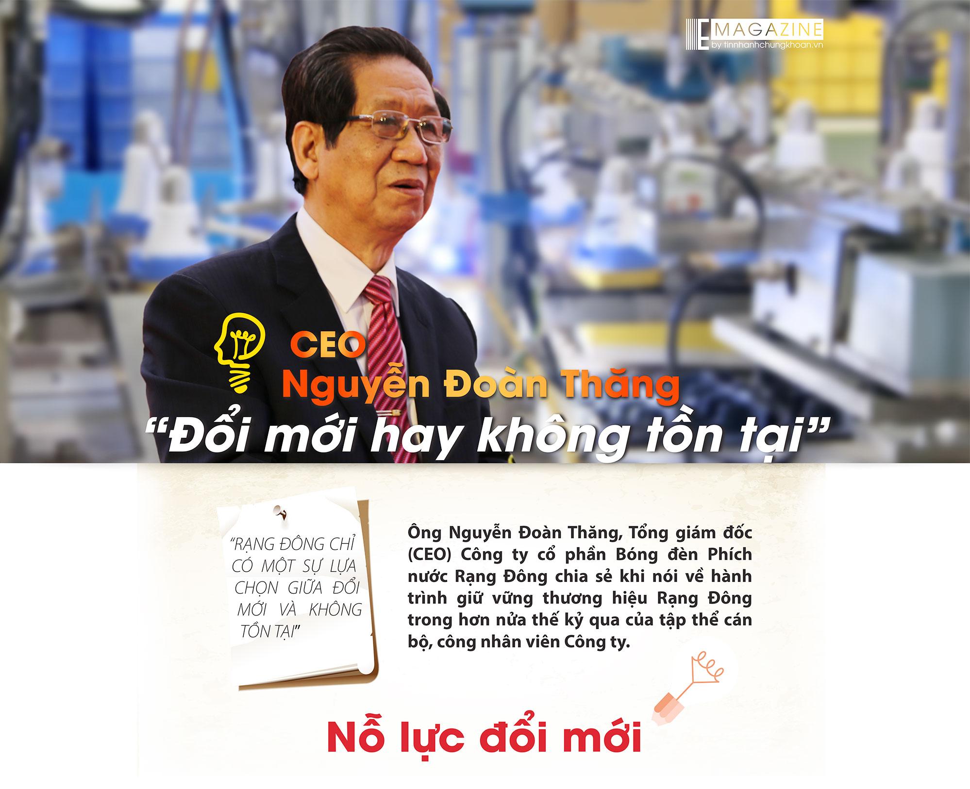 CEO Nguyễn Đoàn Thăng - Đổi mới hay không tồn tại