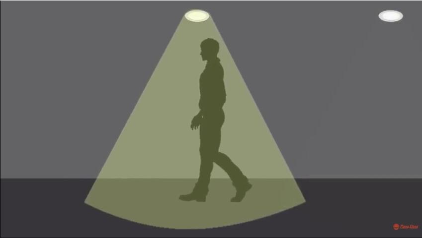 đèn led cảm biến