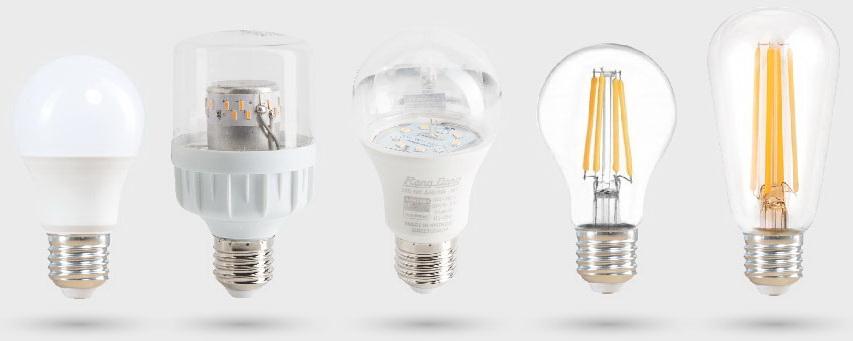 Đui đèn Rạng Đông kết hợp sử dụng các loại bóng búp E27