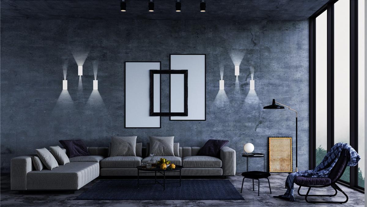 Đèn ốp tường LN18 83x60 6w chiếu sáng phòng khác
