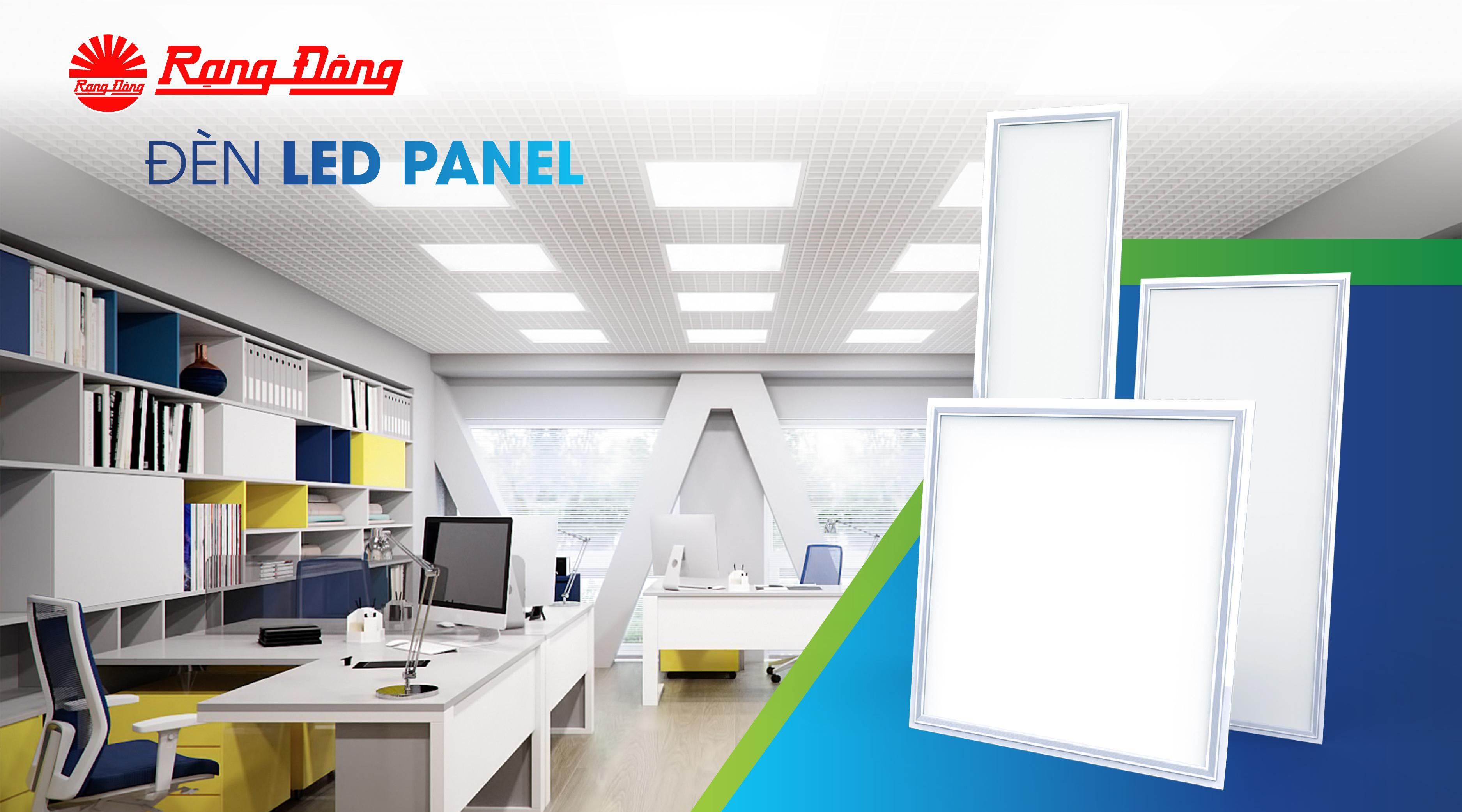 Đèn LED Panel là gì ? Cấu tạo và ứng dụng của đèn LED Panel