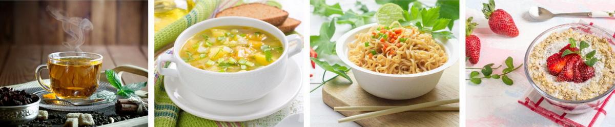 Bình ủ Rạng Đông đựng các loại thực phẩm như cháo, cơm, mỳ..