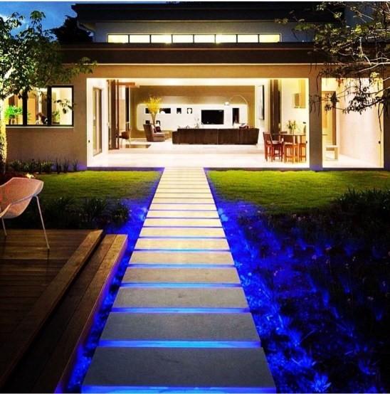 LED dây chiếu sáng trang trí lối đi