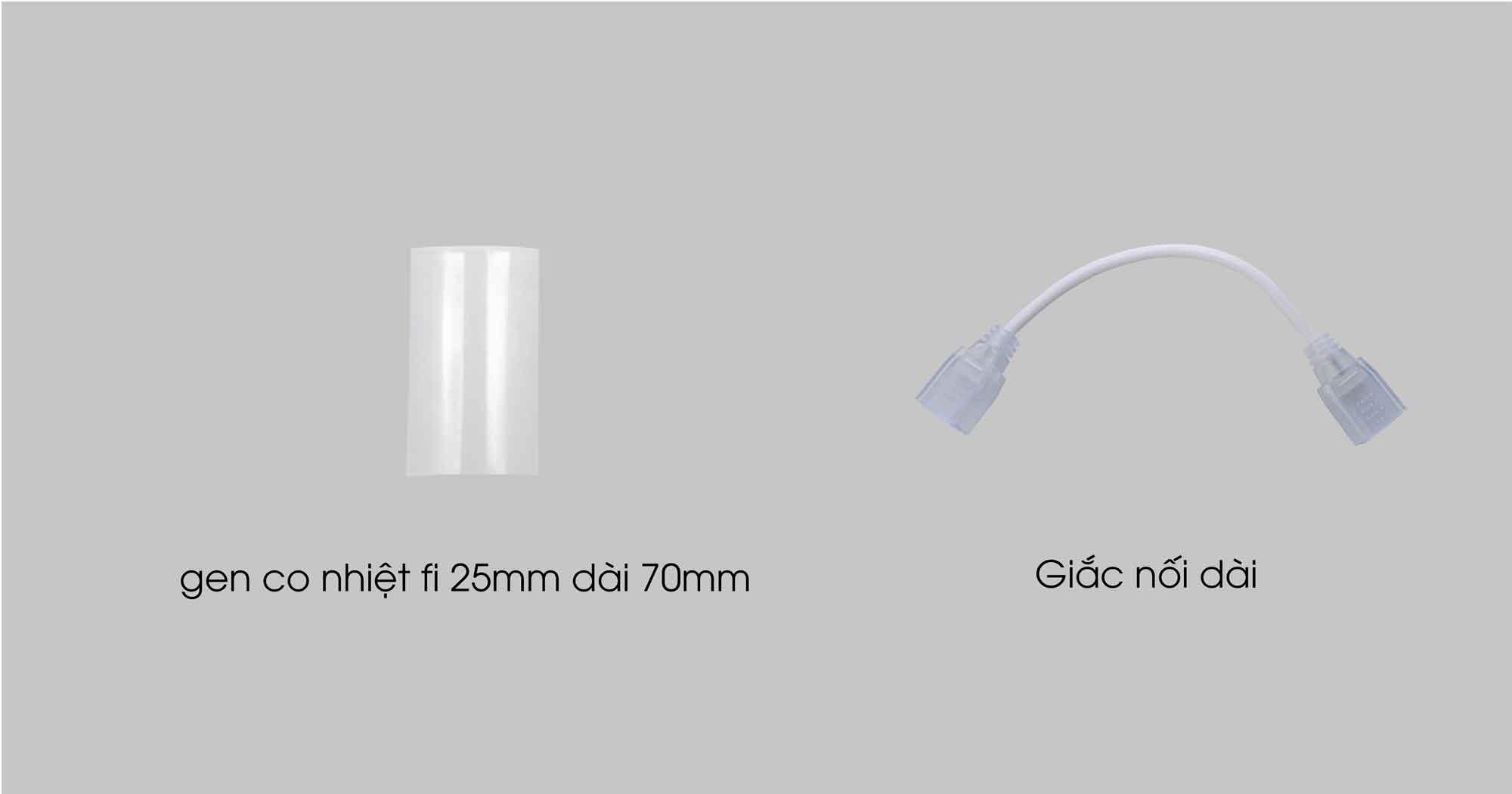 Bộ phụ kiện bán rời đèn LED dây Rạng Đông
