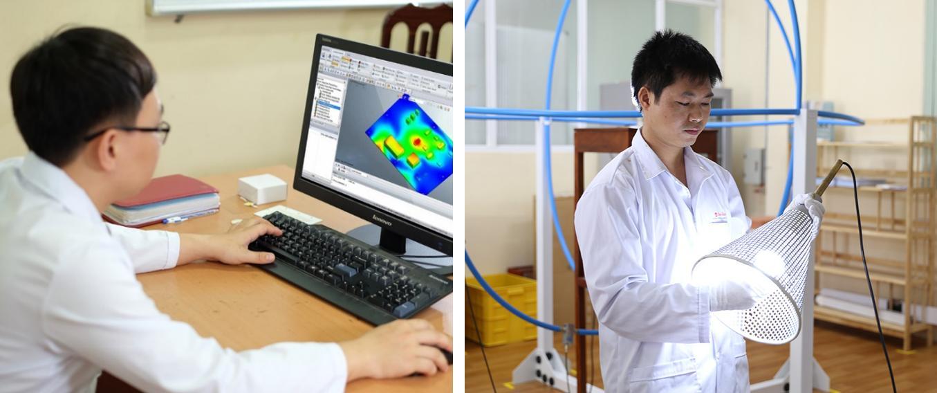 Phần mềm thiết kế ANSYS ICEPAK và Thiết bị kiểm tra tương thích điện từ