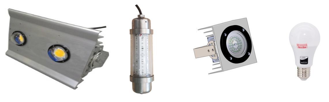 Một số sản phẩm đèn LED đánh cá Rạng Đông