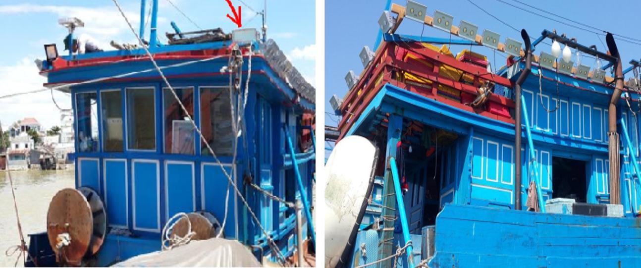 Thử nghiệm thực tế Tàu KH97272