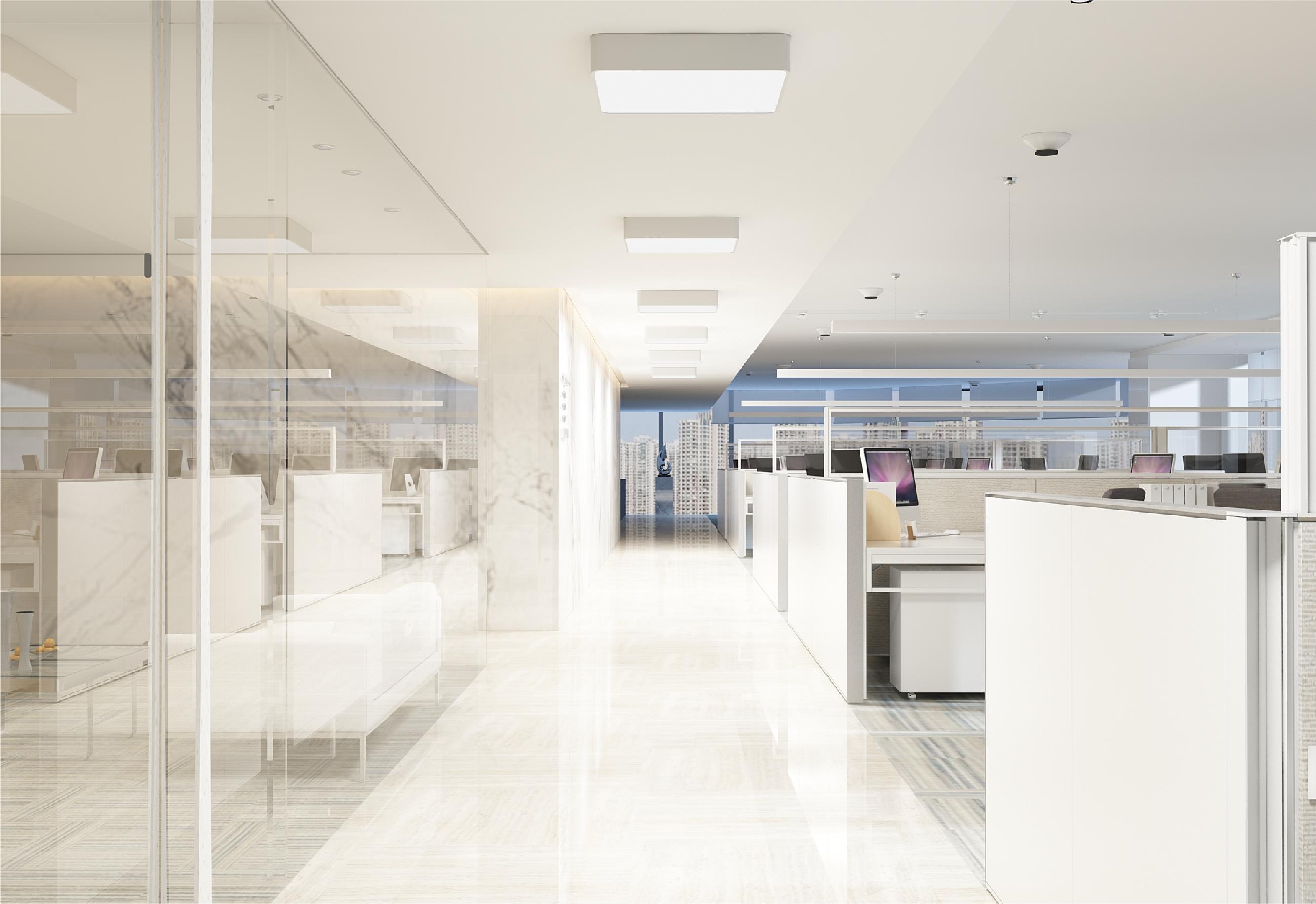 Đèn ốp trần chiếu sáng văn phòng công sở