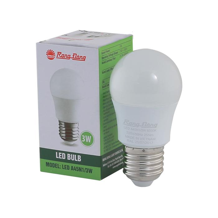 Bóng đèn LED BULB Tròn 3W 1