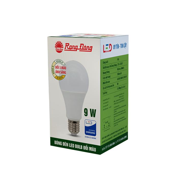 Bóng đèn LED Bulb Đổi màu 9W 1