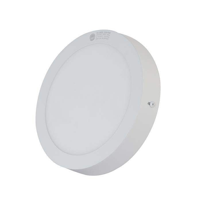 Đèn LED Ốp trần Tròn Cảm biến 18W 2